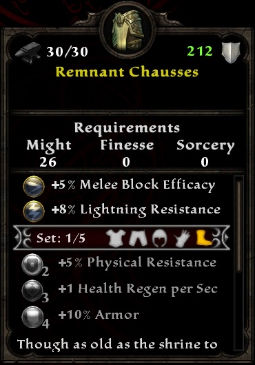 Remnant Chausses