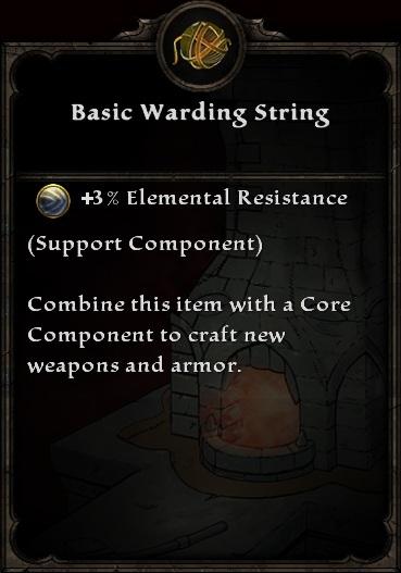 Basic Warding String