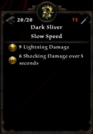 Dark Sliver