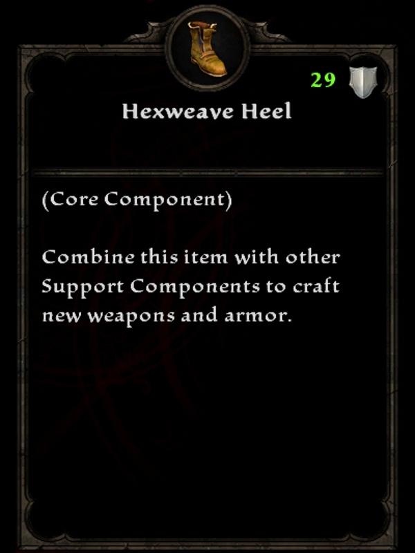 Hexweave Heel