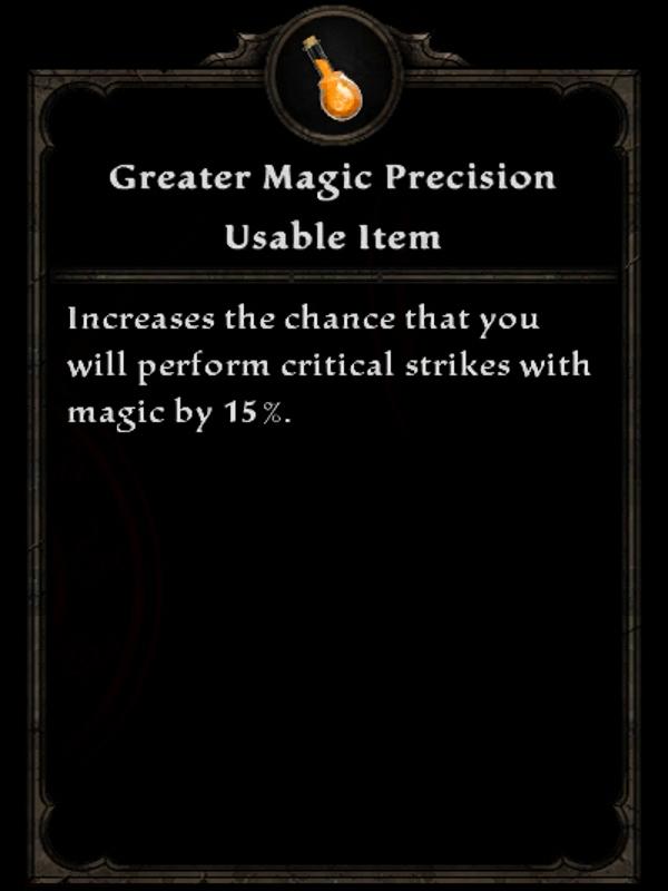 Greater Magic Precision