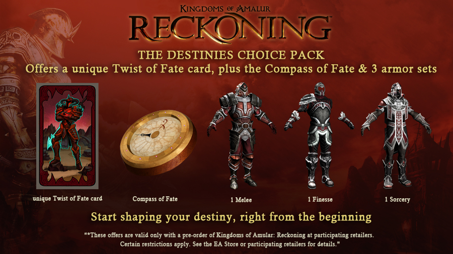 Destinies Choice Pack