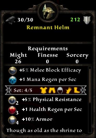 Remnant Helm