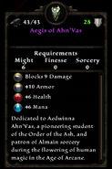 Aegis of ahnvas