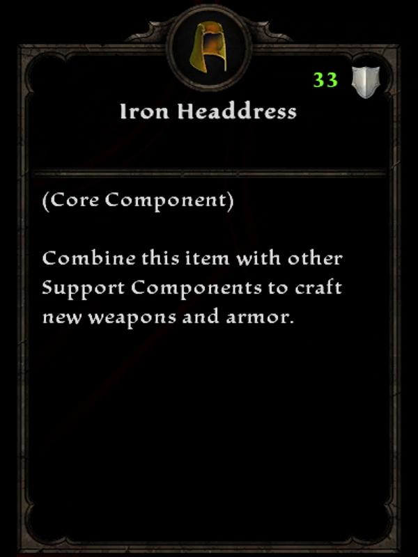 Iron Headdress