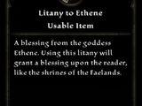 Litany to Ethene
