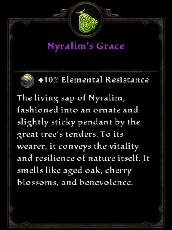 Nyralim's Grace