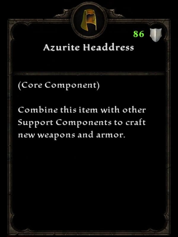 Azurite Headdress