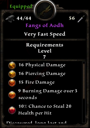 Fangs of Aodh