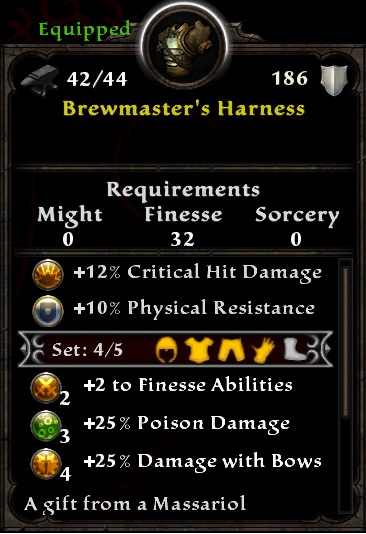 Brewmaster's Harness