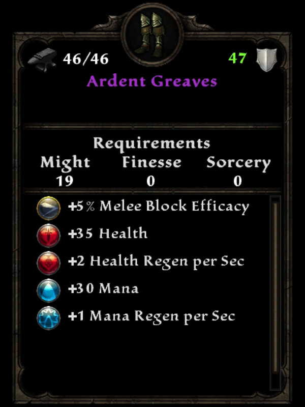 Ardent Greaves