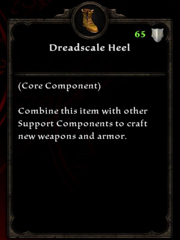 Dreadscale Heel