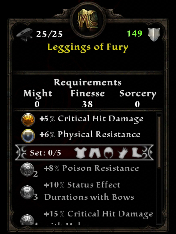 Leggings of Fury