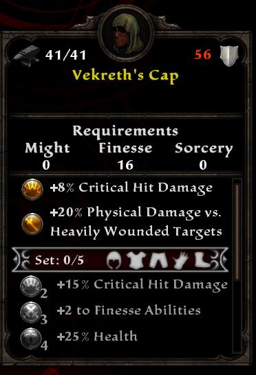 Vekreth's Cap