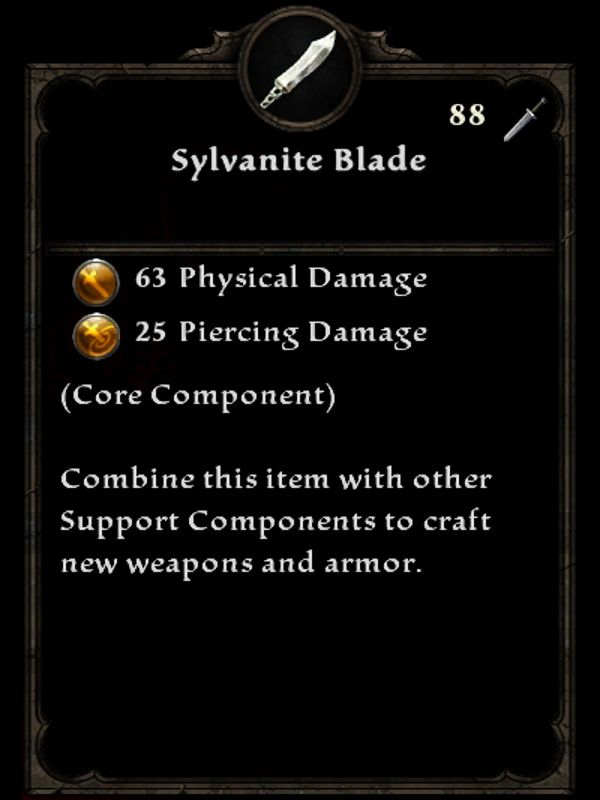 Sylvanite Blade