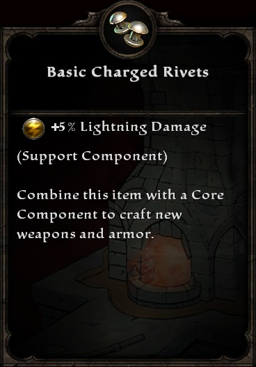 Basic Charged Rivets