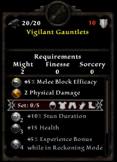 Vigilant Gauntlets