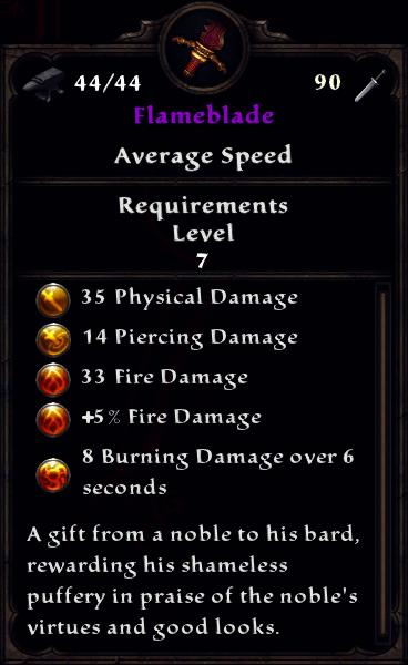 Flameblade
