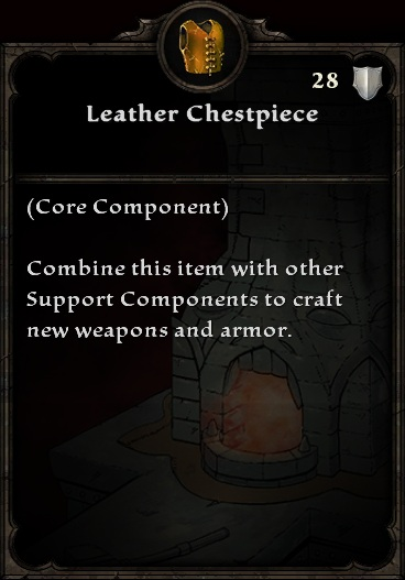 Leather Chestpiece