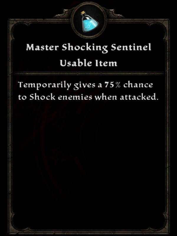Master Lightning Sentinel
