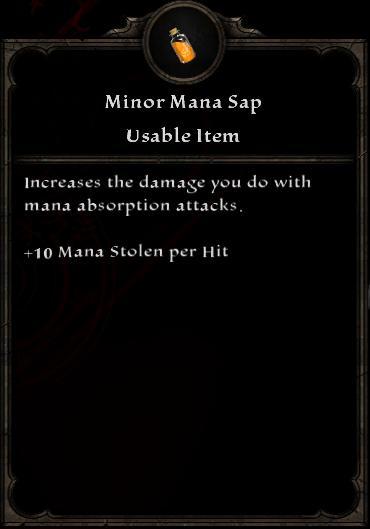 Minor Mana Sap