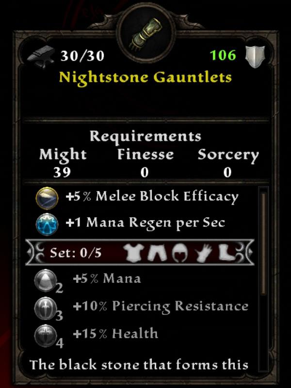 Nightstone Gauntlets