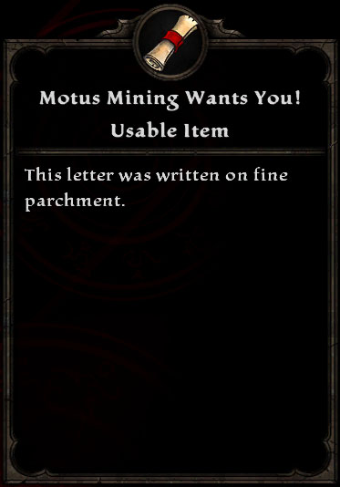 Motus Mining Wants You!