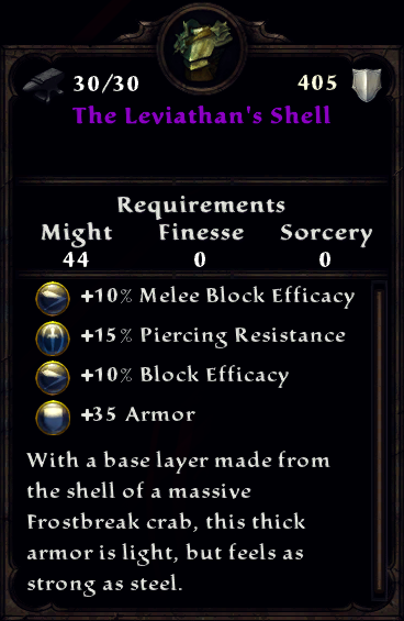 The Leviathan's Shell