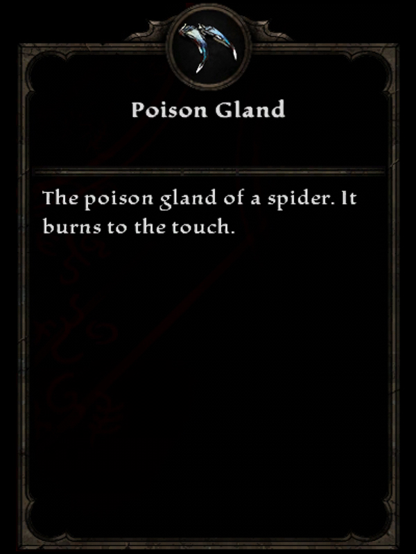 Poison Gland