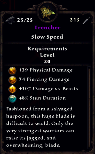 Primal Greatsword