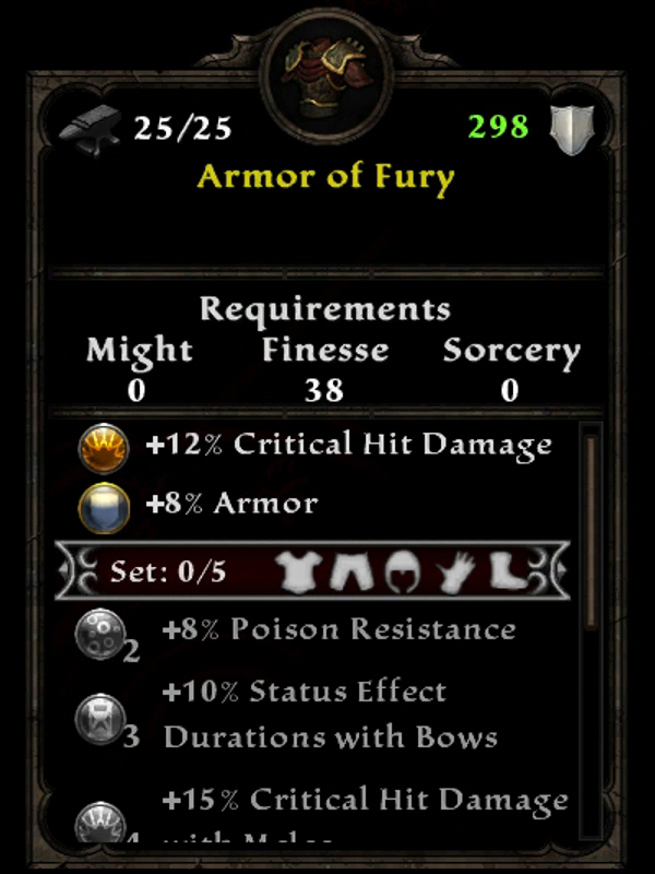 Armor of Fury