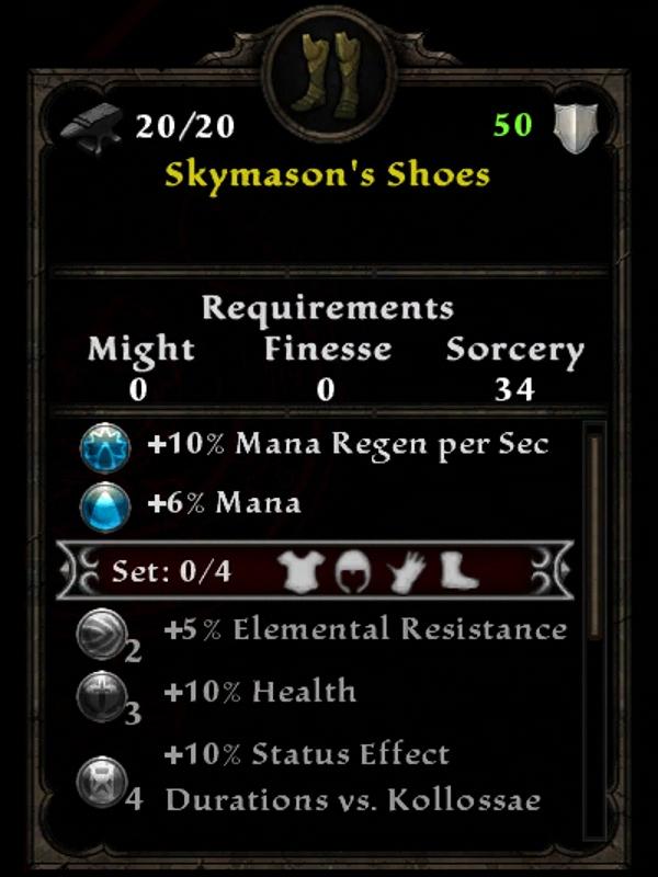 Skymason's Shoes
