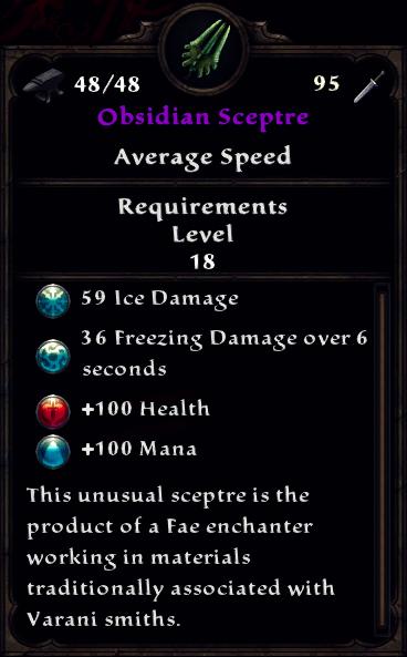 Obsidian Sceptre