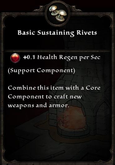 Basic Sustaining Rivets