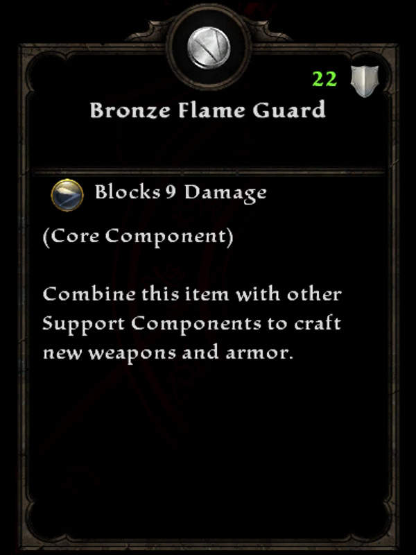 Bronze Flame Guard