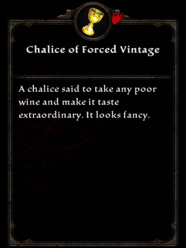 Chalice of Forced Vintage