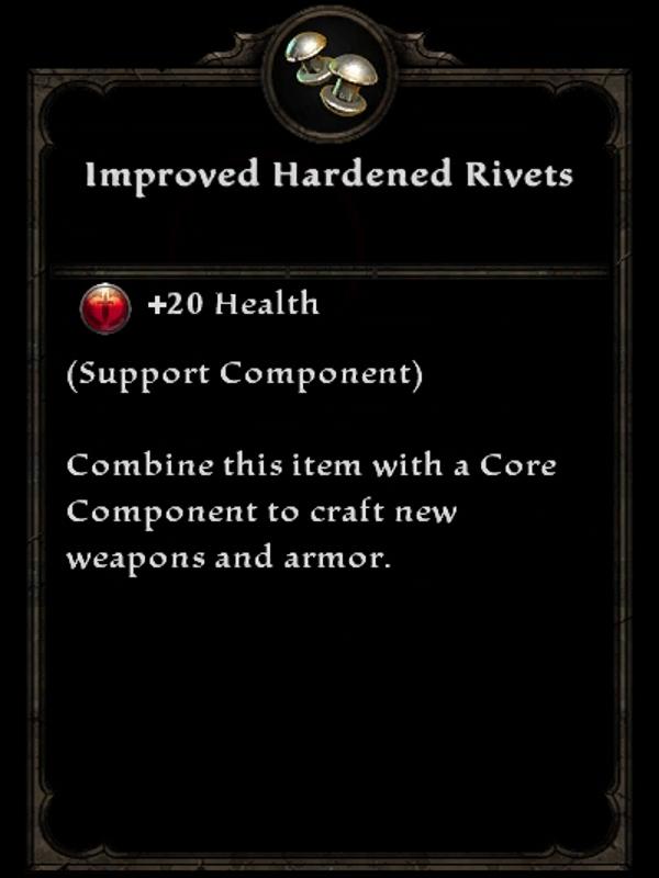 Improved Hardened Rivets