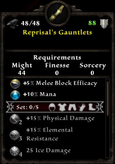Reprisal's Gauntlets
