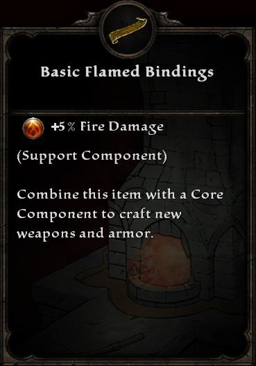 Basic Flamed Bindings