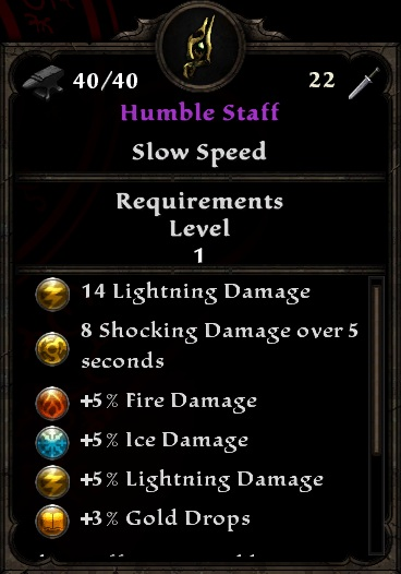 Humble Staff