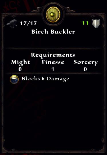 Birch Buckler
