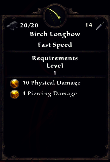 Birch Longbow