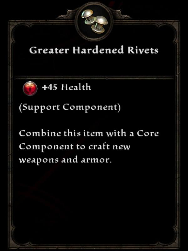 Greater Hardened Rivets