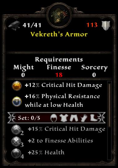 Vekreth's Armor