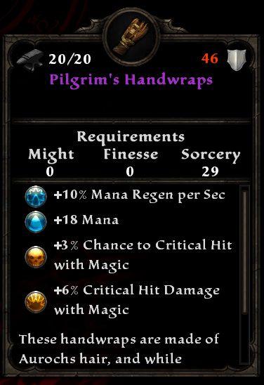 Pilgrim's Handwraps