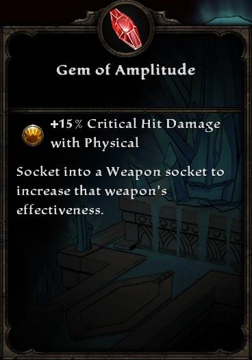 Gem of Amplitude