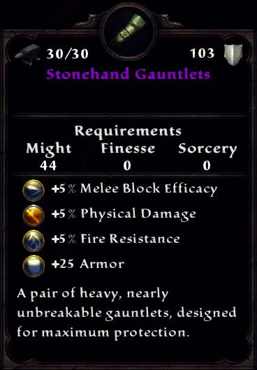Stonehand Gauntlets