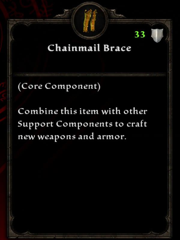Chainmail Brace
