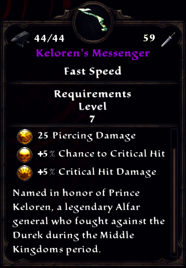 Kelorens Messenger Full Card.png