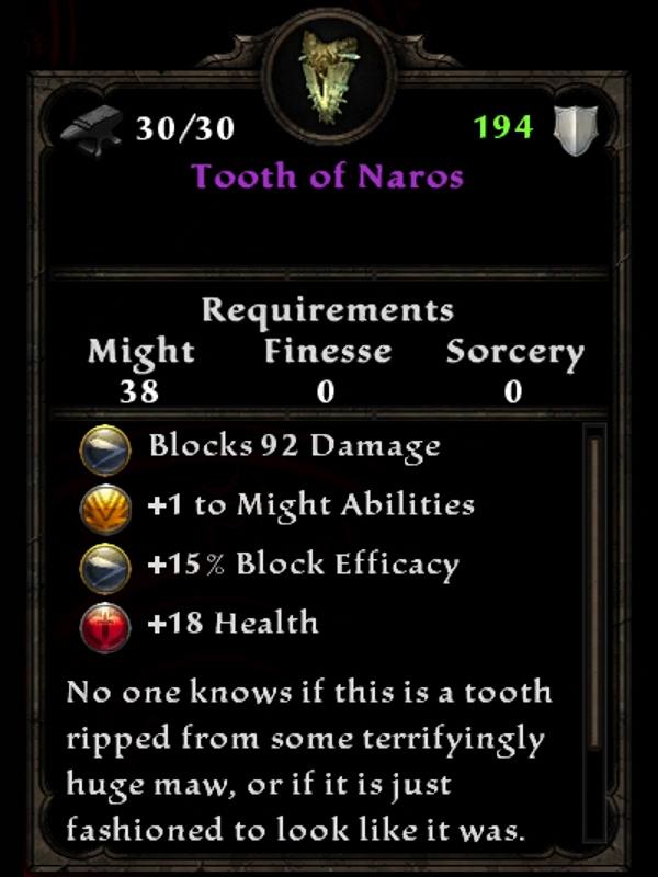 Tooth of Naros